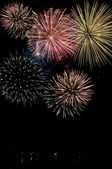 Canada Day Fireworks — Stock Photo