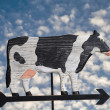 Cow Weather Vane — Stock Photo #20783441