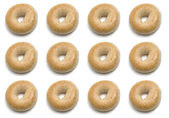 One Dozen Bagels — Stock Photo