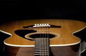 Guitar Selective Focus — Stock Photo