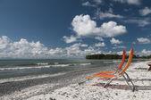 Loungen op lake ontario — Stockfoto