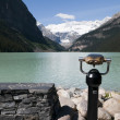 Stock Photo: View at Lake Louise