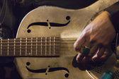 Steel Guitar — Stock Photo