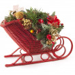 Christmas Sled — Stock Photo
