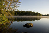 Morning Mist on the Bay — Stock Photo
