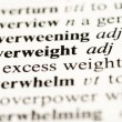 Overweight — Stock Photo #34416939