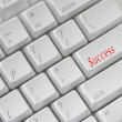 Success Keyboard — Stock Photo