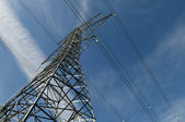 Large Electric Tower — Stock Photo