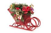Small Christmas Sled — Stock Photo