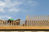 Wood Construction Framing — Stock Photo