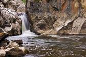 Poudre vodopády — Stock fotografie