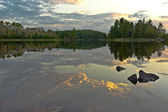 Boundary Waters reflection. — 图库照片
