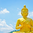Golden Buddha at Buddha Memorial park — Stock Photo