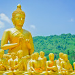Royalty-Free Stock Photo: Golden Buddha at Buddha Memorial park