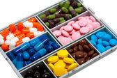 Box mit pille — Stockfoto