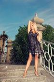 Glamorous woman — Stock Photo