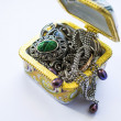Box with jewelry — Foto Stock