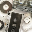 Stock Photo: Audiotapes