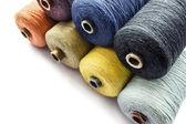 Multicolor draad — Stockfoto
