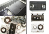 Set of tapes — Stock Photo