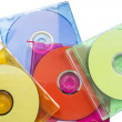 Stock Photo: CD in boxed