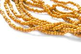 Orange bead — Stock Photo