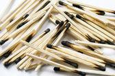 Burned matches — Stock Photo
