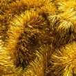 Golden tinsel — Stock Photo #31215223