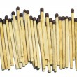 Stock Photo: Row of matches