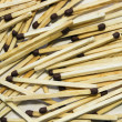 A lot of matches — Stock Photo