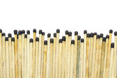 Matches over white — Stock Photo