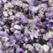 Pieces of amethyst — Foto de Stock