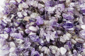 Pieces of amethyst — Stock Photo