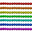 Stock Photo: Rainbow bead