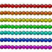 Rainbow bead — Stock Photo