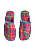 Pantofole rossi — Foto Stock