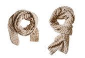 Beige scarfs — Stock Photo