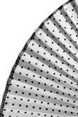 Textile fan — Stock Photo
