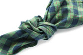 Knotted handkerchief — Stock Photo