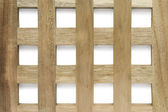 Kratka drewniana — Zdjęcie stockowe