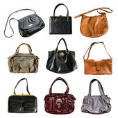 Set of bags — Stock Photo