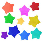 Estrellas de papel — Foto de Stock