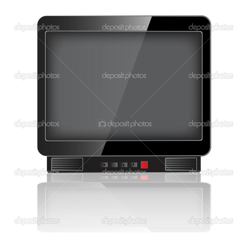 旧电视机 — 图库矢量图像08