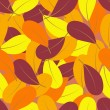 Royalty-Free Stock Vector Image: Autumn leaf pattern