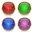Royalty-Free Stock Vector Image: Clocks vector set