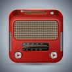 Retro radio vector illustration — Stock Vector #25643075