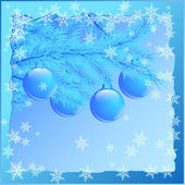 Christmas background. — Vettoriale Stock