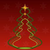 Christmas vector card — Stockvektor