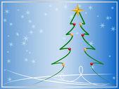 Рождество Векторная карта — Cтоковый вектор