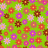 Floral seamless vector background — Stock Vector